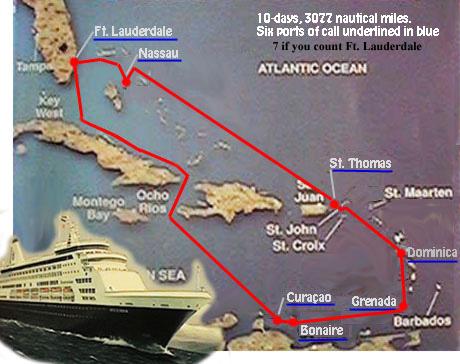 Carib97 map