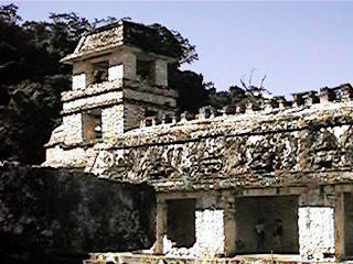 Palenque tower